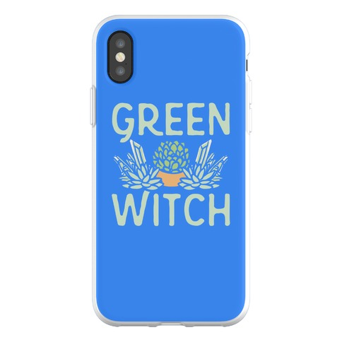 Green Witch Phone Flexi-Case