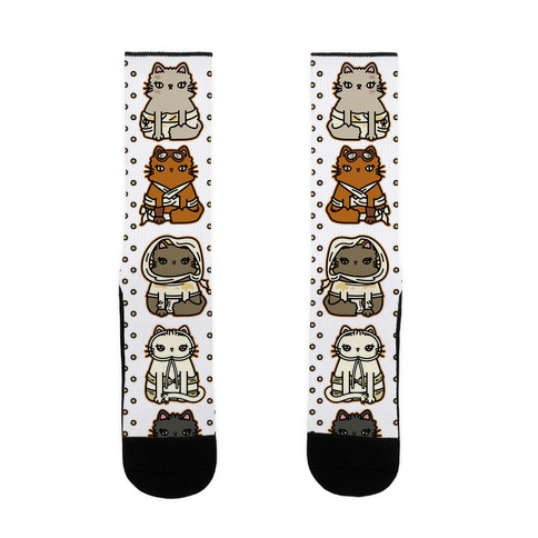 Mad Cats Furry Road Sock