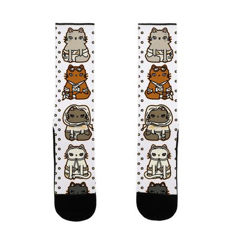 Mad Cats Furry Road Sock