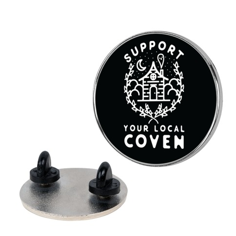 Support Your Local Coven Pin