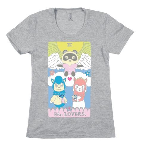 The Alpaca Lovers Tarot Womens T-Shirt