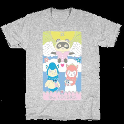 The Alpaca Lovers Tarot Mens/Unisex T-Shirt
