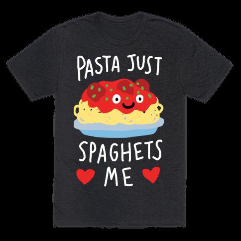 Pasta Just Spaghets Me Mens T-Shirt