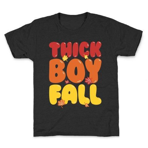 Thick Boy Fall Kids T-Shirt