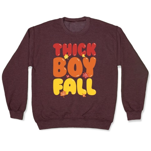 Thick Boy Fall Pullover