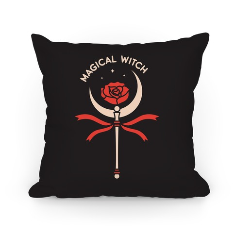 Magical Witch Wand Pillow