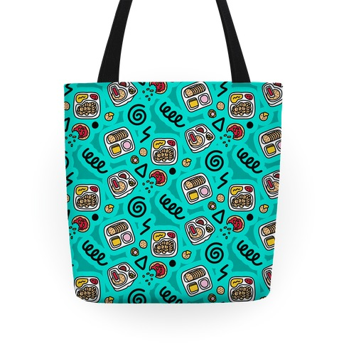 Lunch Pack Snack Pattern Tote
