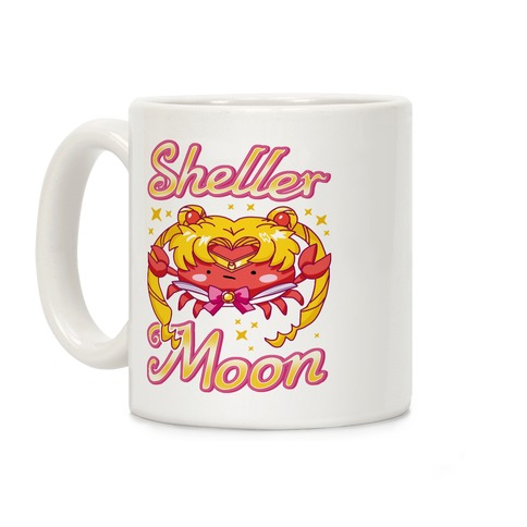 Sheller Moon Coffee Mug