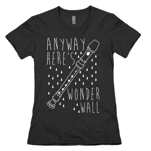 Wonderwall Womens T-Shirt