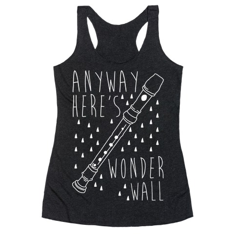 Wonderwall Racerback Tank Top
