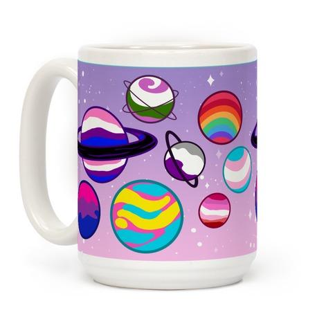 LGBTQ+ Planets Coffee Mug