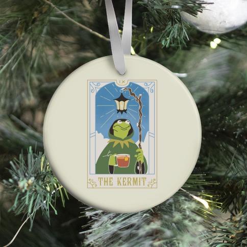 The Kermit Tarot Card Ornament