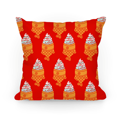 Taiyaki Pattern  Pillow