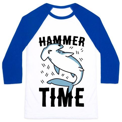 Hammer Time - Hammerhead Baseball Tee