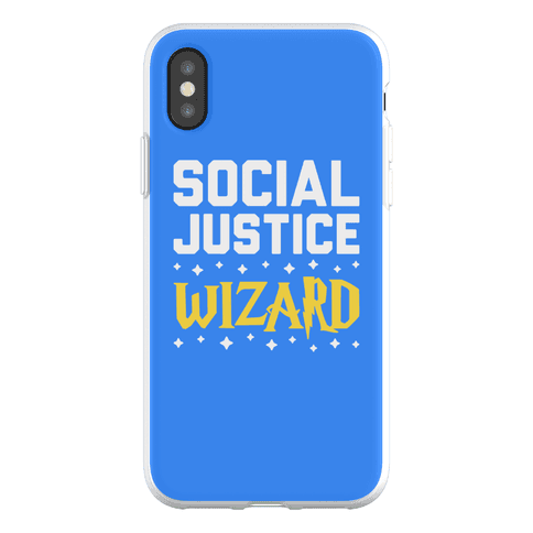 Social Justice Wizard Phone Flexi-Case
