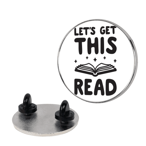 Let's Get This Read pin