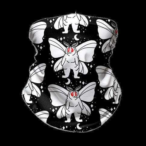 Moth Chonk Pattern Neck Gaiter