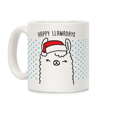 Happy Llamadays Coffee Mug