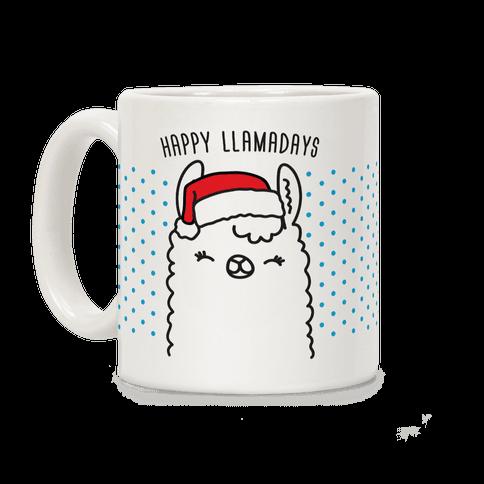 Happy Llamadays Coffee Mug
