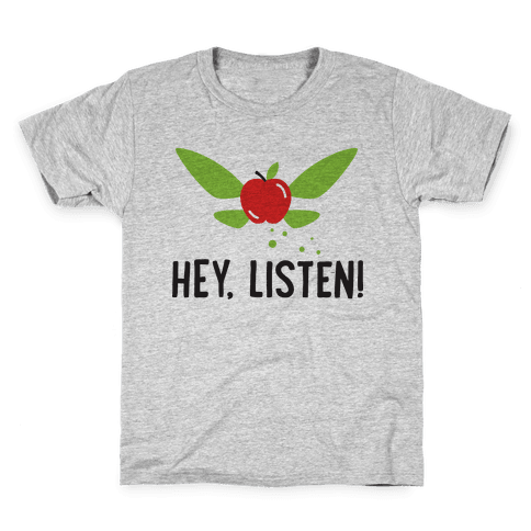 Hey, Listen! Teacher Navi Kids T-Shirt