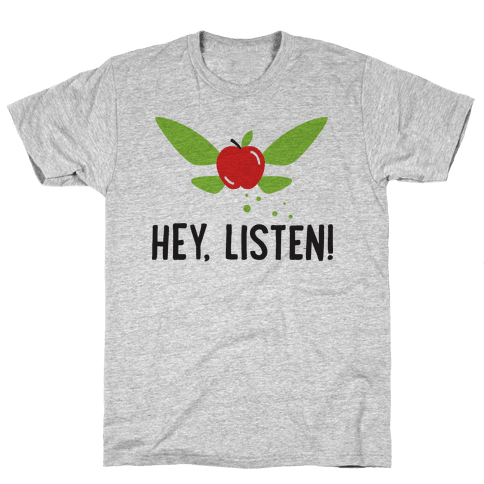 Hey, Listen! Teacher Navi Mens T-Shirt