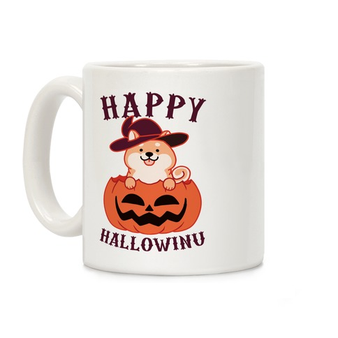 Happy Hallowinu Coffee Mug