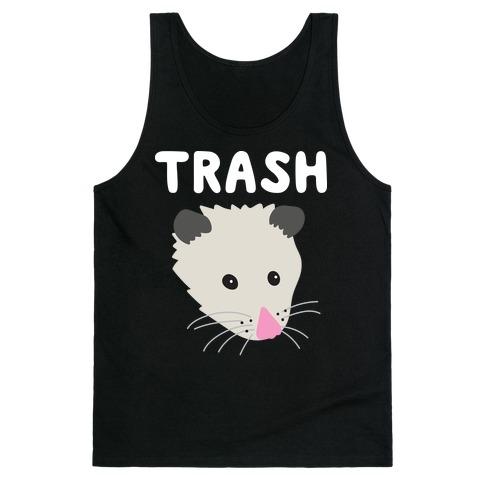 Trash Mates Pair - Opossum 1/2 Tank Top