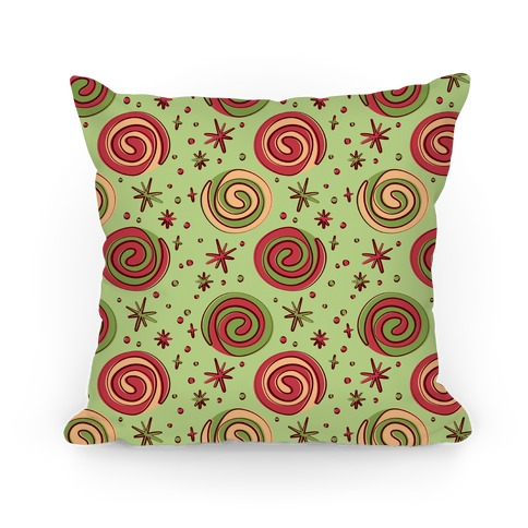 Christmas Pinwheel Cookies Pillow