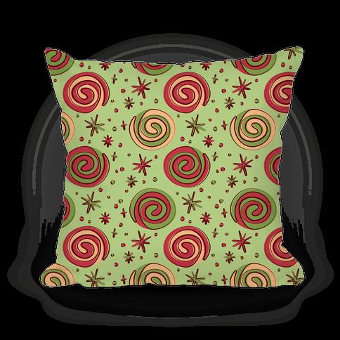 Christmas Pinwheel Cookies Pillow