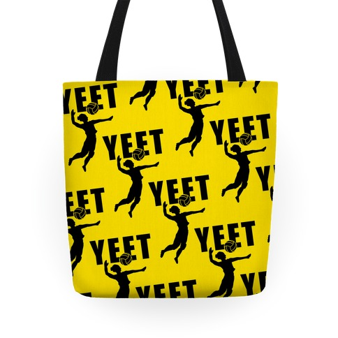 Volleyball YEET Tote