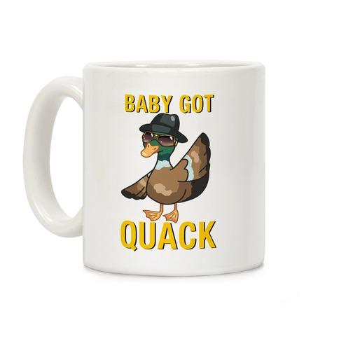 Baby Got Quack Parody Coffee Mug