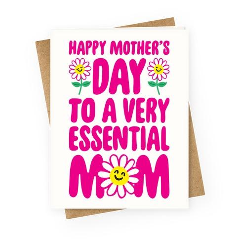 Essential Mom Greeting Card