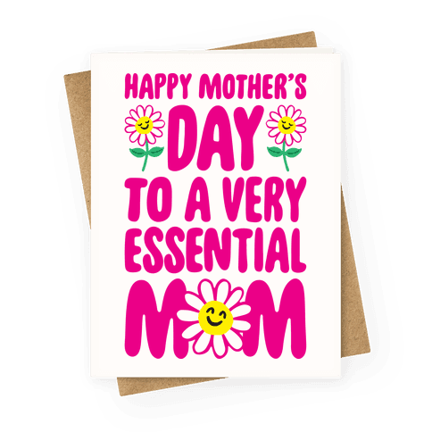 Essential Mom Greeting Card