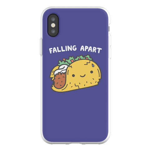 Falling Apart Taco Phone Flexi-Case