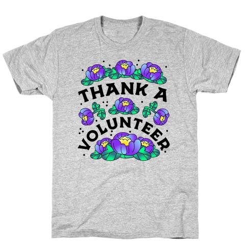 Thank a Volunteer T-Shirt