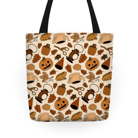 Into the Unknown Pattern Tote