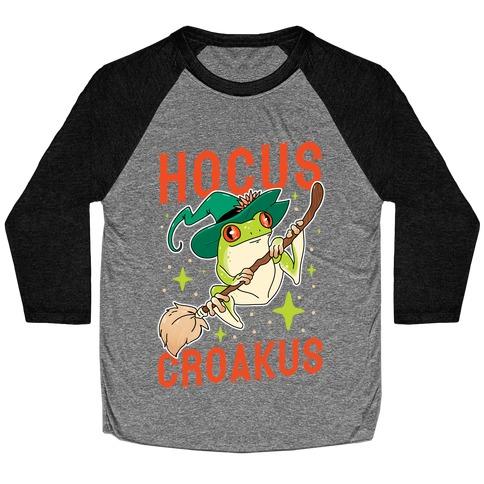 Hocus Croakus Baseball Tee