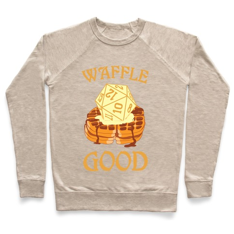 Waffle Good Pullover
