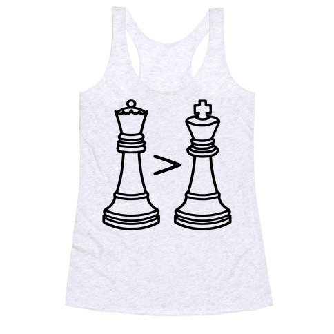 Queen Takes King Racerback Tank Top