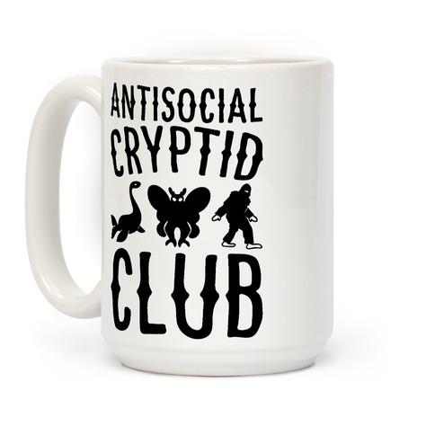Antisocial Cryptid Club Coffee Mug