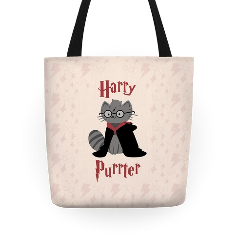 Harry Purrter Tote