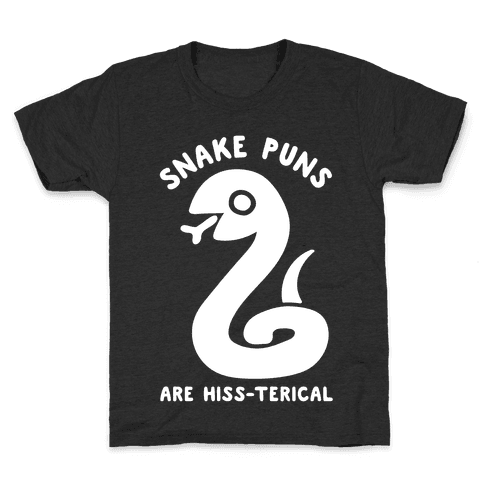 Snake Jokes Are Hiss-terical Kids T-Shirt