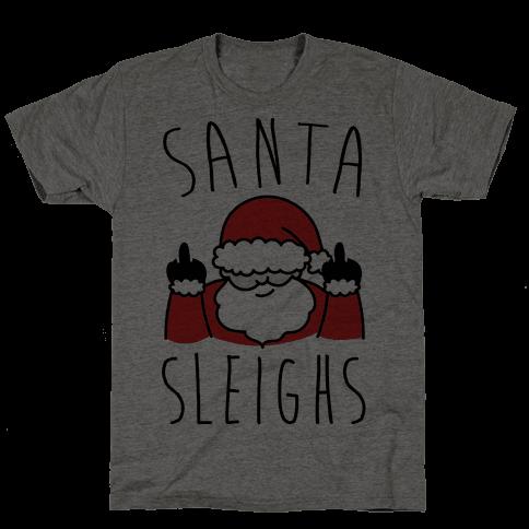 Santa Sleighs Parody