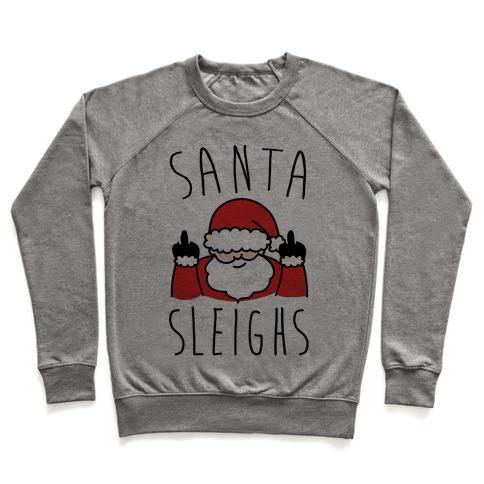 Santa Sleighs Parody Pullover