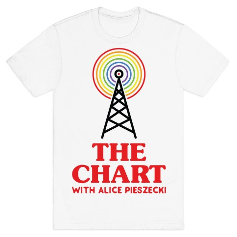The Chart With Alice Pieszecki T-Shirt