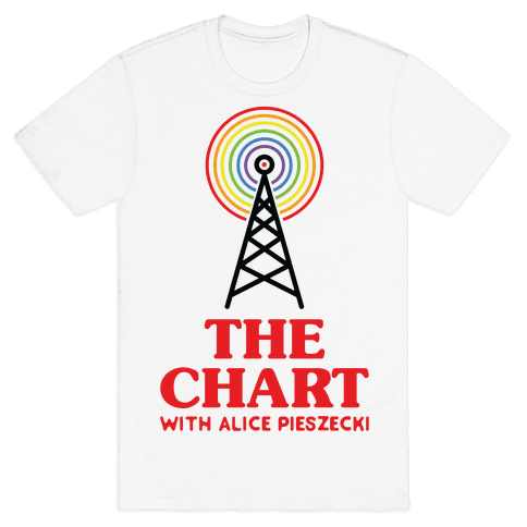 The Chart With Alice Pieszecki Mens T-Shirt