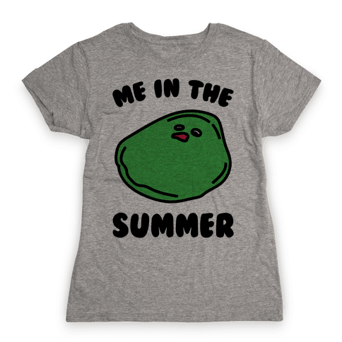 Me In The Summer  Womens T-Shirt