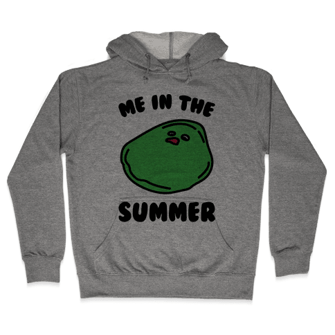 Me In The Summer  Hooded Sweatshirt