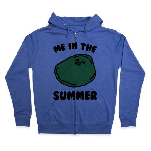 Me In The Summer Zip Hoodie