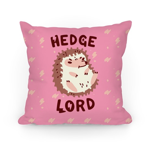 Hedge Lord Pillow